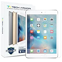 iPad Mini 4 Glass Screen Protector, Tech Armor Premium Ballistic Glass Apple iPad Mini 4 Screen Protectors [1]
