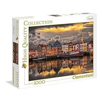 Clementoni High Quality Collection Puzzle Dutch Dreamworld 1000 Pezzi 39421