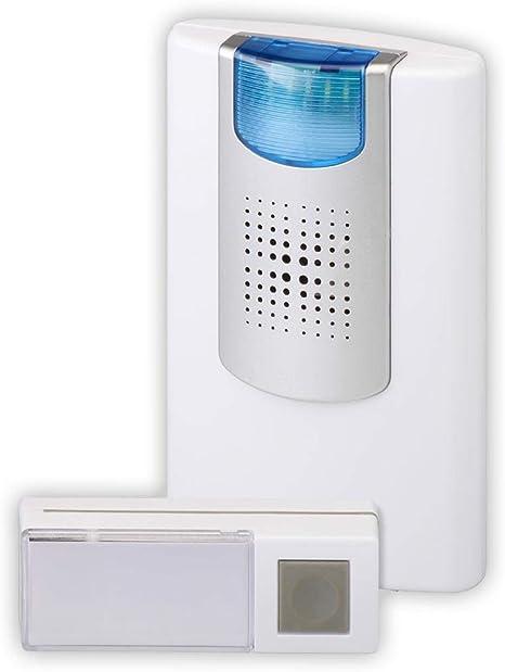 Zusatz-Funkklingel mit Batterien für vorhandene Funk-Klingeln
