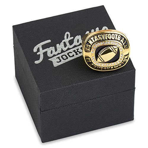 (Fantasy Football Championship Ring (Gold Plated - Size 12))