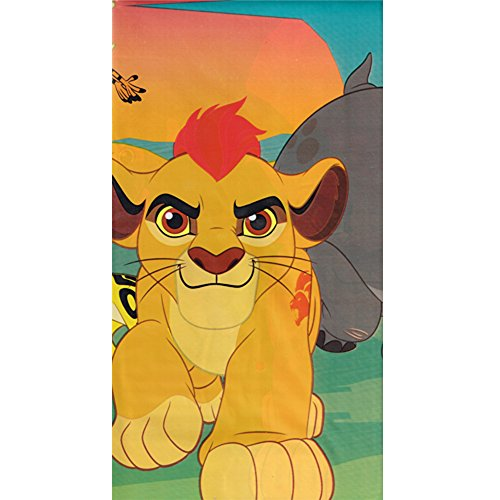 (American Greetings The Lion Guard Plastic Party Table Cover, 54