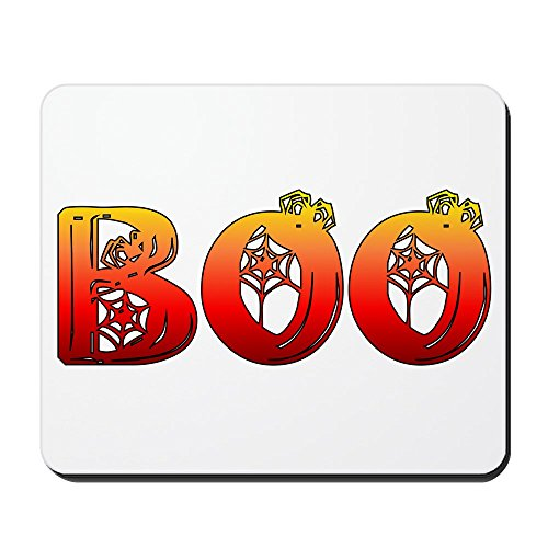 CafePress - Boo and Decorations Mousepad - Non-Slip Rubber Mousepad, Gaming Mouse Pad -