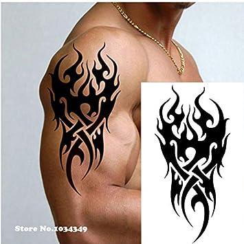 Tatuaje De Hombre Tatoo De Fuego Águila Loto Mandala Ojo Llama ...