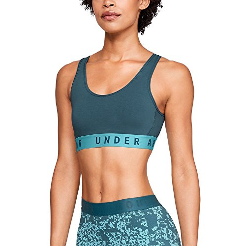 (Under Armour Women's Favorite Cotton Everyday Bra, Static Blue (414)/Static Blue, X-Large)