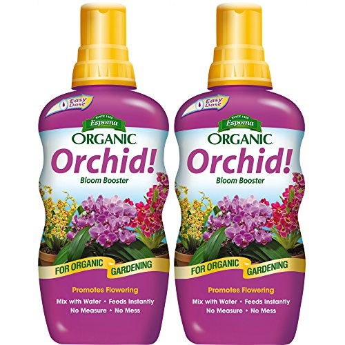 Espoma Organic Orchid! Bloom Booster Plant Food, 8 oz Concentrate (2 Pack, Booster Plant Food)