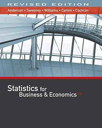 Bundle: Statistics for Business & Economics, Revised, 13th +  XLSTAT Education Edition Printed Access Card + CengageNOW with XLSTAT, 2 term Printed ... JMP Printed Access Card for Peck's Statistics