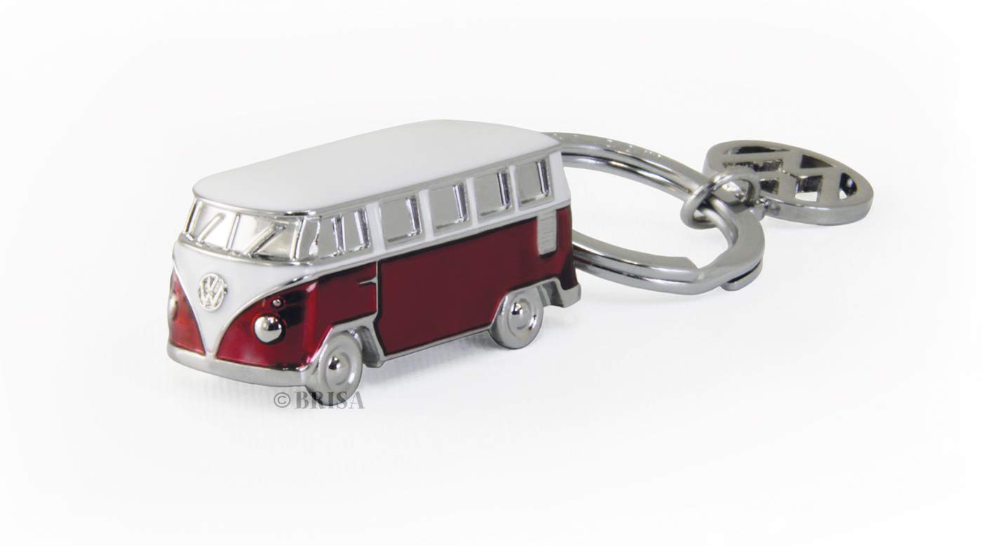 Brisa VW Collection VW T1 Bus 3D Llavero - Rojo