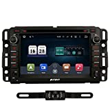 PUMPKIN 10.1 inch Android 7.1 Car Stereo Double Din with Android Auto, GPS and WiFi, Bluetooth, Support Fastboot, Backup Camera, Touch Screen, OBD2, MirrorLink, USB SD (car Radio)