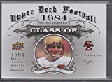 2011 Upper Deck Doug Flutie Boston College Class of 1984 Football Card #CO-7