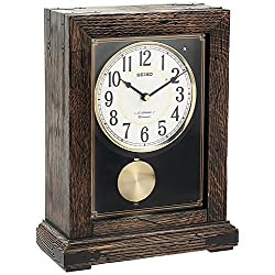 Seiko QXW233BLH Mantel Japanese Quartz Shelf Clock
