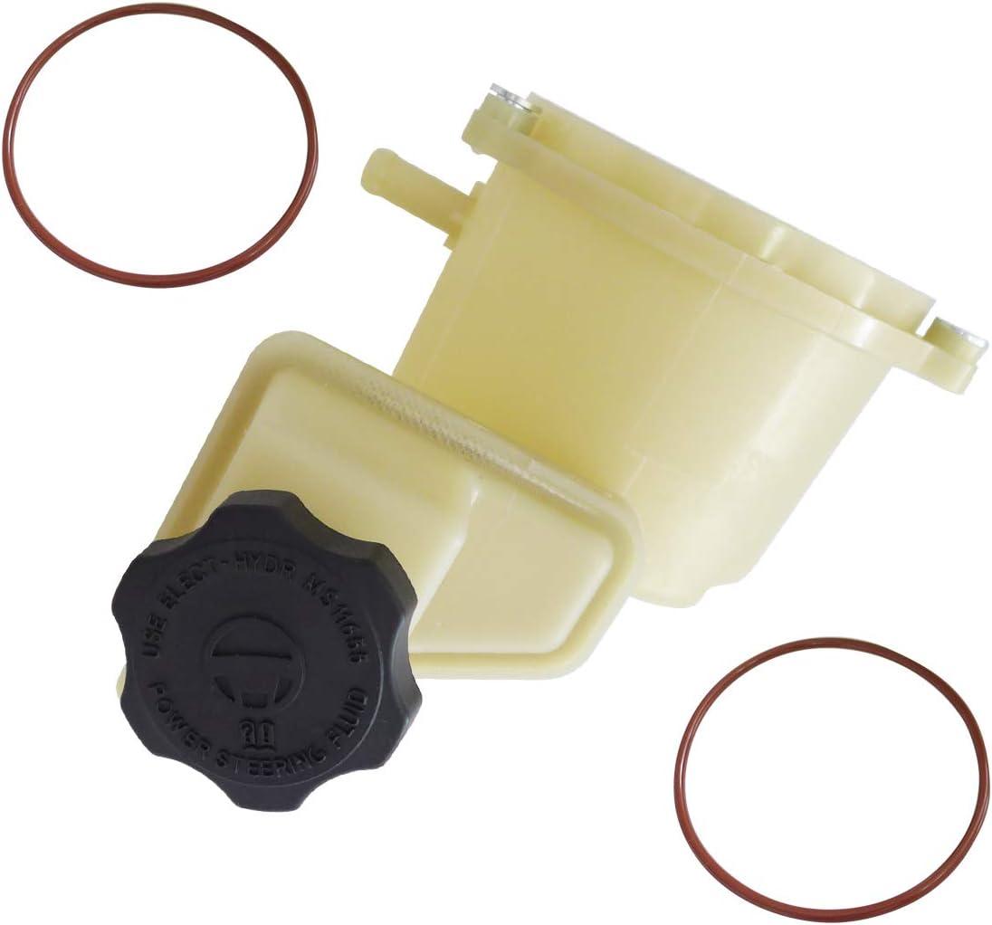 603-939 TIKSCIENCE Power Steering Fluid Reservoir Fuel Tank Bottle for Dodge Charger Challenger and Chrysler 300 V6 V8 3.6L 5.7L