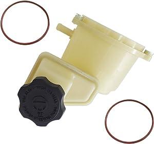 TIKSCIENCE Power Steering Fluid Reservoir Fuel Tank Bottle, 603-939, Fit for Dodge Charger Challenger and Chrysler 300 V6 V8 3.6L 5.7L