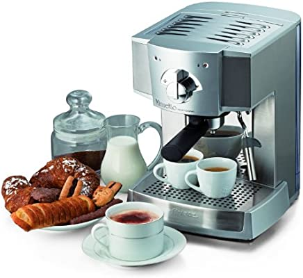 Ariete Minuetto Professional - Cafetera Expresso, 1100 W, color plata: Amazon.es: Hogar
