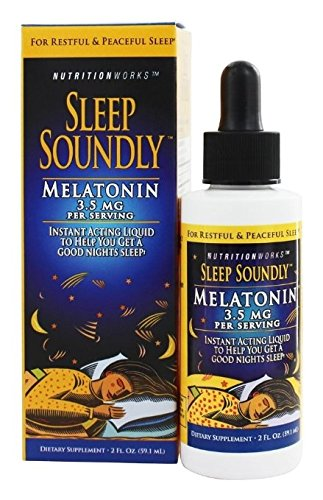 NUTRITION WORKS S/S MELATONIN 2 OZ