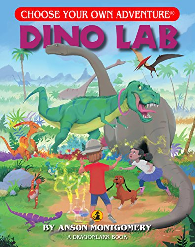 Dino Lab (Choose Your Own Adventure - Dragonlarks) (Choose Your Own Adventures Dragonlarks)
