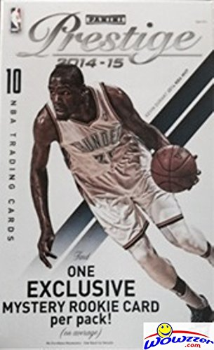 2014/15 Panini Prestige NBA Basketball EXCLUSIVE Factory Sealed Hanger Box (Basketball Factory Sealed Hobby Box)