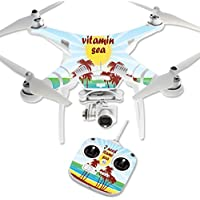 Skin For DJI Phantom 3 Standard – Vitamin Sea | MightySkins Protective, Durable, and Unique Vinyl Decal wrap cover | Easy To Apply, Remove, and Change Styles | Made in the USA