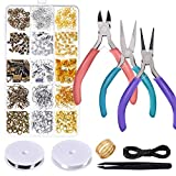 Anezus-Jewelry-Repair-Kit-with-Jewelry-Pliers-Jewelry-Making-Tools-Beading-String-and-Jewelry-Making-Supplies-