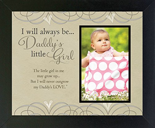 The Grandparent Gift Picture Daddy's Little Girl Photo Frame for Dad,