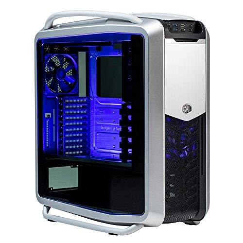 Cooler Master RC-1200-KKN2 Cosmos II 25th ANNIVERSARY Edition XL-ATX Full-Tower with Dual Curved Tempered Glass Side Panels Cases (Best Atx Full Tower Case)