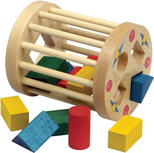 Shape Sorter Round Cage - Made in USA
