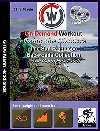 Going the Distance, The San Francisco Backroads Collection, The Marin Headlands - Virtual Indoor Cycling Training / Spinning Fitness and Weight Loss Videos: Amazon.es: Cine y Series TV
