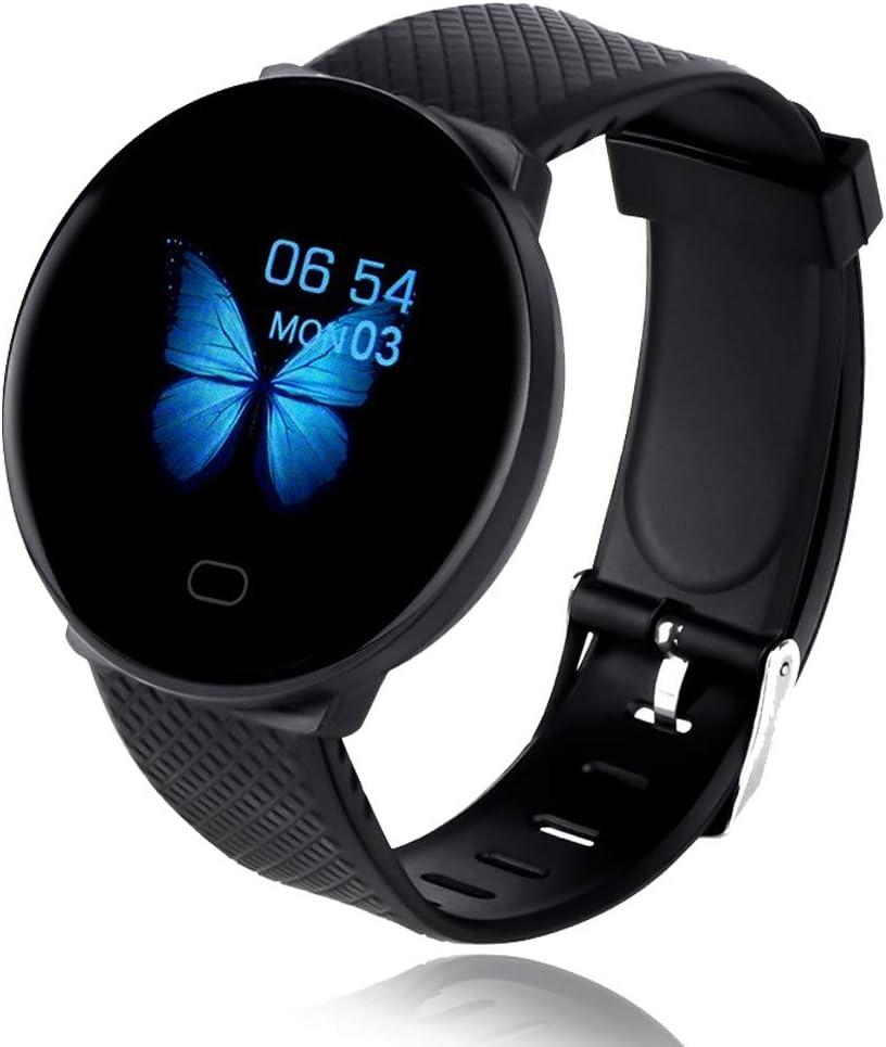 Baiguni Bluetooth Smart Watch Reloj Inteligente Mujer Hombre Smartwatch Pulsómetro,Cronómetros,Calorías,Monitor de Sueño,Podómetro Pulsera Actividad Inteligente, Impermeable Android e iOS