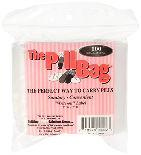 (The Pill Bag 100 Count Pill Bag Size 3