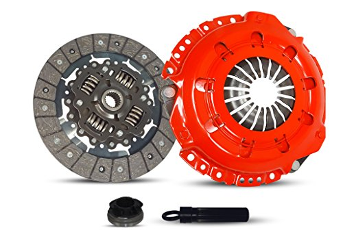 Clutch Kit Works With Saturn Sc1 Sc2 Sl Sl1 Sl2 Sw2 Base Sedan 4-Door Coupe 3-Door 2000-2002 1.9L 116Cu. In. l4 GAS DOHC SOHC Naturally Aspirated (Stage 1)