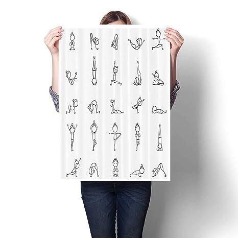 1 pieza 100% cuadros mandala fondo con Símbolos de yoga y ...