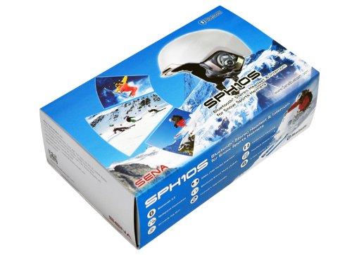 Sena SPH10S-G Bluetooth Stereo Headset/Intercom for Snow Sports Helmets by Sena (Image #2)