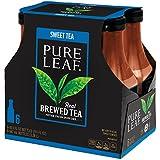 Pure Leaf Iced Tea, Sweet Tea, Real Brewed Black Tea, 18.5 Ounce Bottles (Pack of 6)