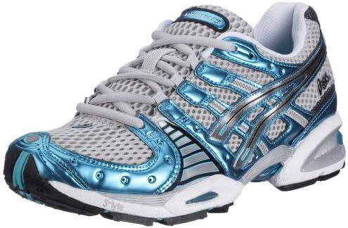 Asics Gel Nimbus VIII tn685 – 9191 – Zapatillas de Running para Mujer, Gris (Quick Silver 9191), Color Gris, Talla 39 UE: Amazon.es: Zapatos y complementos
