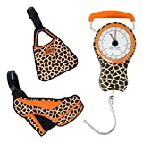 Luggage Scale and Luggage Tags Set in Animal Print