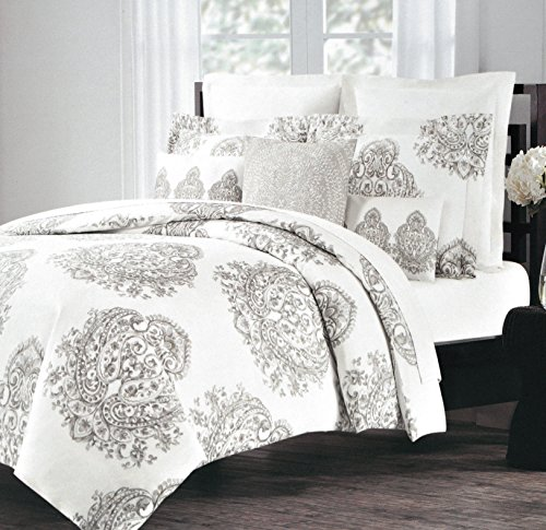 New Amazon.com: Vintage Medallion Print Duvet Quilt Cover Damask  XU59