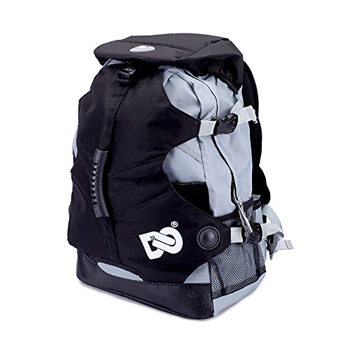 Roller Skate Shoe Backpack Bag for Men Women and Kids (Black)