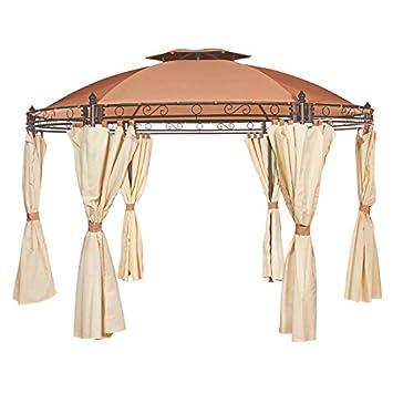 Camelot Regency Superior - Cenador circular: Amazon.es: Jardín