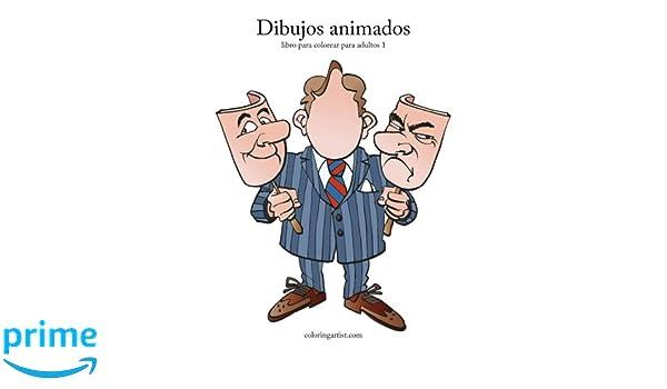 Dibujos animados libro para colorear para adultos 1: Volume 1: Amazon.es: Nick Snels: Libros