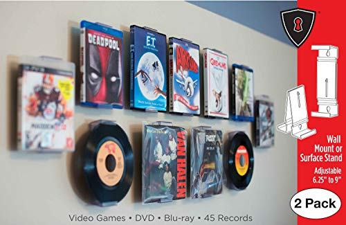DVD Mount Video Game, 45 Record and Blu-Ray Shelf Stand for sale  Delivered anywhere in Canada