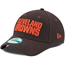 New Era Cleveland Browns The League 9forty Adjustable Hat Brown