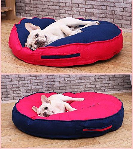 Sistemazioni per per per dormire Per Cani Cotone Senza elettricità statica Letto per Cani Letto per Animali Domestici (Colore   D Red, Dimensione   80CM) 0baa81