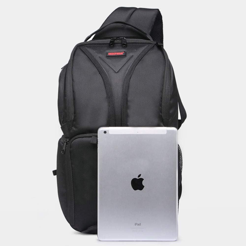 LILINSS Digital Camera Backpack Mens Large-Capacity Multi-Function Outdoor Travel Shoulder Camera Bag,Red