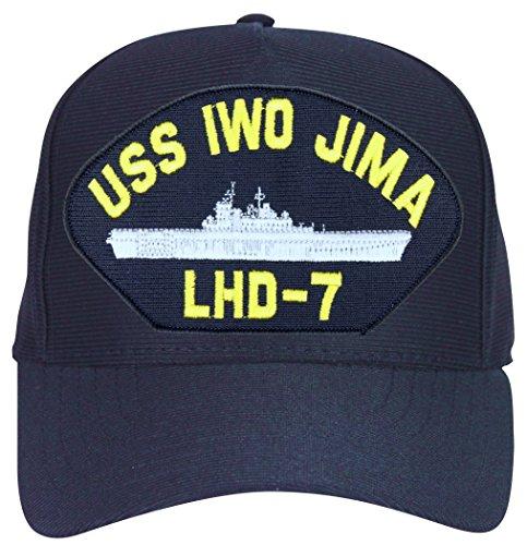 Ships Iwo Jima - MilitaryBest USS Iwo Jima LHD-7 Ships Ball Cap