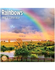 2022 Rainbows Wall Calendar by Bright Day, 12 x 12 Inch, Beautiful Weather Nature