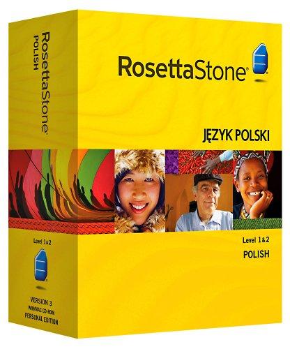 Rosetta Stone V3: Polish Level 1-2 Set with Audio Companion [OLD VERSION]