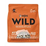 Sojos Wild Wild Boar Recipe Freeze-Dried Raw Dog Food, 4 Lb.