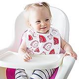 Baby Bib Large Toddler Burpy Absorbent Feeding