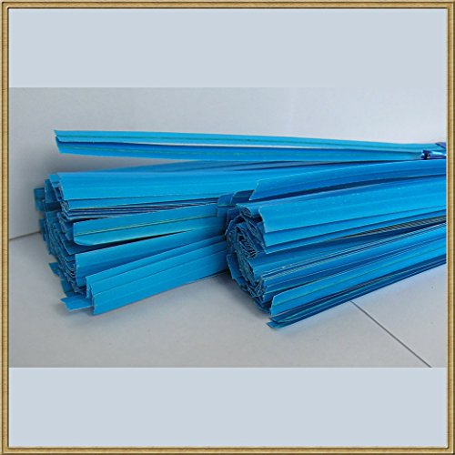 114 Pull (100pcs Plastic/paper Coated Blue 7