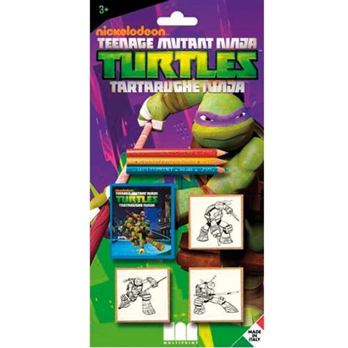 Multiprint 3884 - Sellos s3 Blister Ninja Turtles: Amazon.es ...