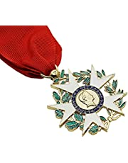 Frans Legion of Honor Medal, Chivalric Order Replica of Honor Badge, 1: 1 Replica of Legeringsmedaille, Medaille Collectible Souvenir